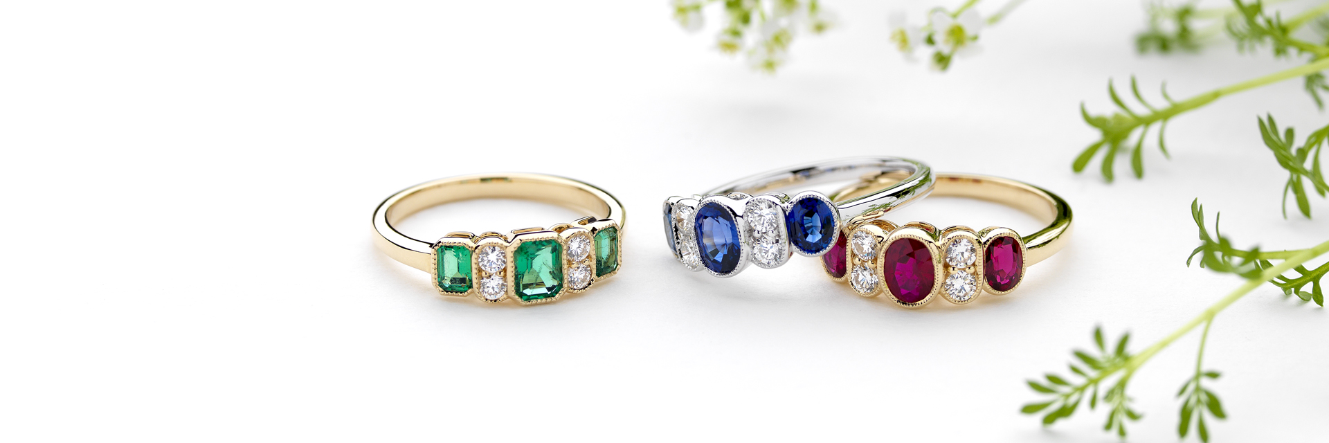 GEMSTONE JEWELLERY FROM PRAVINS