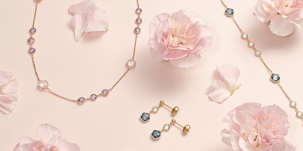 INSPIRED BY THE FLOWERS OF SPRING.