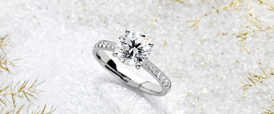 CONTEMPORARY ENGAGEMENT RINGS