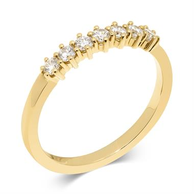 18ct Yellow Gold Diamond Eternity Ring 0.28ct thumbnail