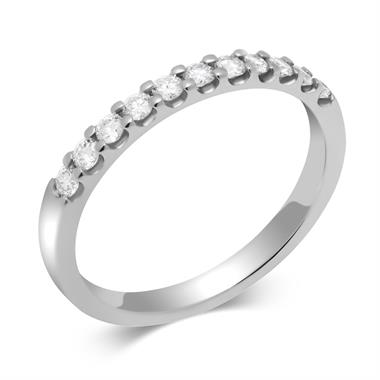 Platinum Round 0.15ct Diamond Claw Ring thumbnail