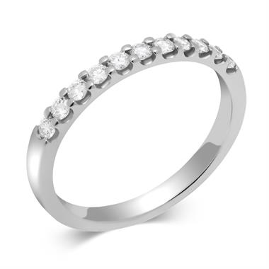 Platinum Round 0.25ct Diamond Claw Ring thumbnail