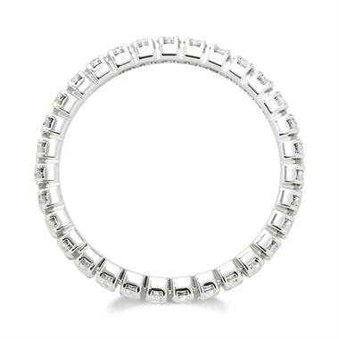 Platinum Diamond Full Eternity Ring 0.70ct thumbnail