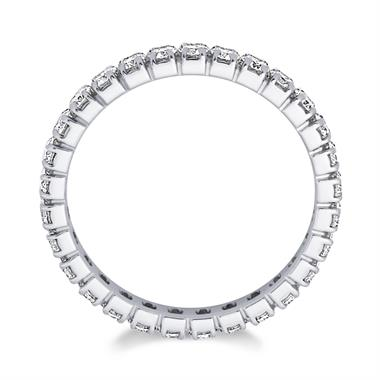 Platinum 0.90ct Diamond Full Channel Eternity Ring thumbnail
