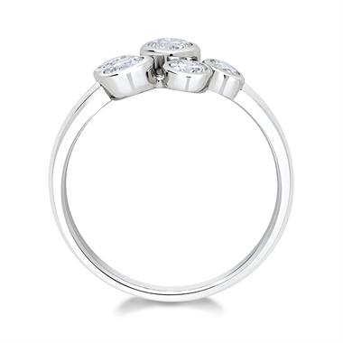 Alchemy 18ct White Gold 0.65ct Diamond Ring thumbnail