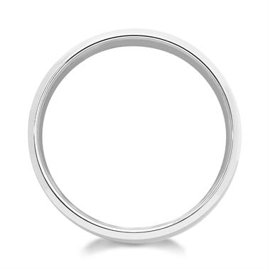 Palladium Bevel Detail Wedding Ring thumbnail