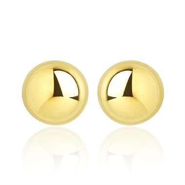 18ct Yellow Gold Small Ball Stud Earrings thumbnail