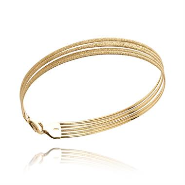 18ct Yellow Gold Multi Strand Bracelet thumbnail