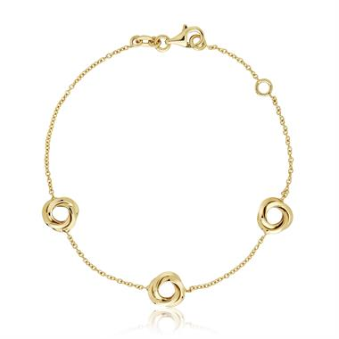 Eternal 18ct Yellow Gold Bracelet thumbnail