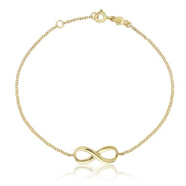 Infinity 18ct Yellow Gold Bracelet thumbnail