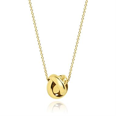 Echo 18ct Yellow Gold Necklace thumbnail
