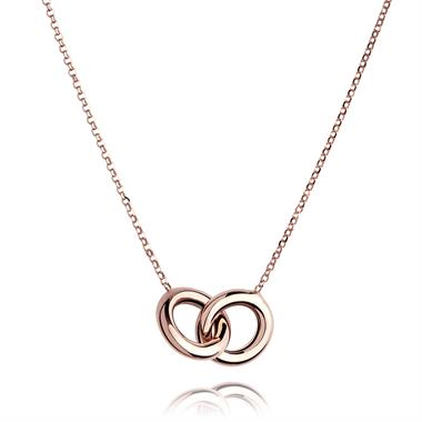 Union 18ct Rose Gold Necklace thumbnail