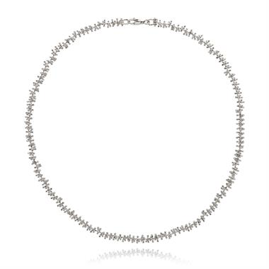 Willow 18ct White Gold Necklace thumbnail