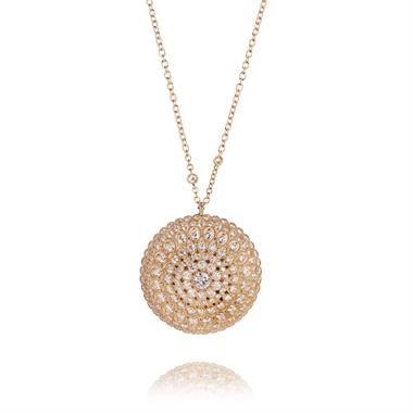 Fenice 18ct Rose Gold 5.29ct Diamond Necklace thumbnail