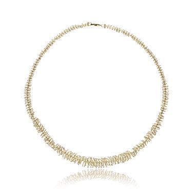 Willow 18ct Yellow Gold Necklace thumbnail