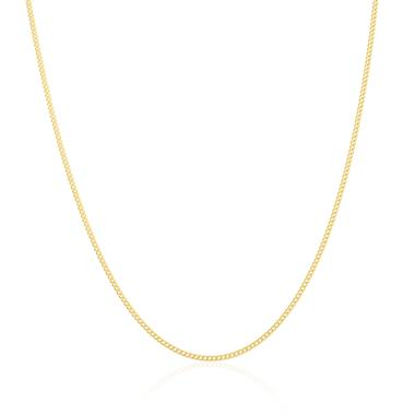 18ct Yellow Gold Heavy Curb Chain 60cm thumbnail