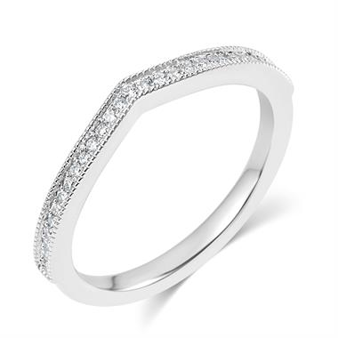 Platinum Pave Set Diamond Eternity Ring thumbnail