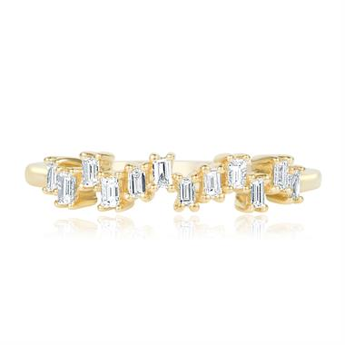 Stardust 18ct Yellow Gold Diamond Dress Ring 0.19ct thumbnail