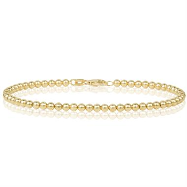 18ct Yellow Gold Bead Detail Bracelet thumbnail