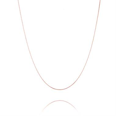 18ct Rose Gold Trace Chain thumbnail