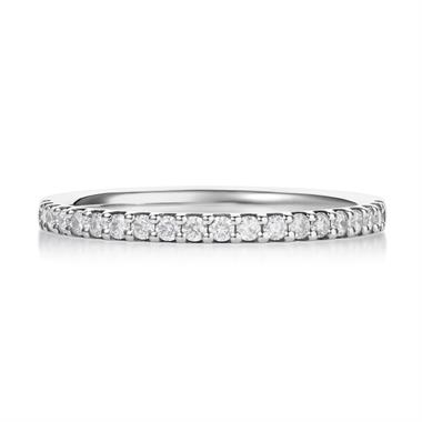 Platinum 0.23ct Diamond Ring thumbnail
