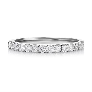 Platinum 0.50ct Diamond Ring thumbnail