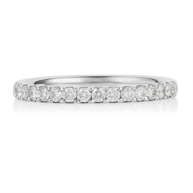 Platinum 0.33ct Diamond Ring thumbnail
