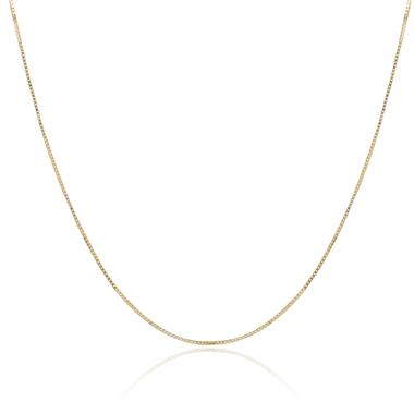 18ct Yellow Gold Box Chain thumbnail