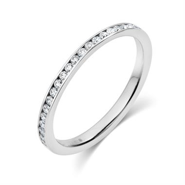 Platinum 0.30ct Diamond Ring thumbnail