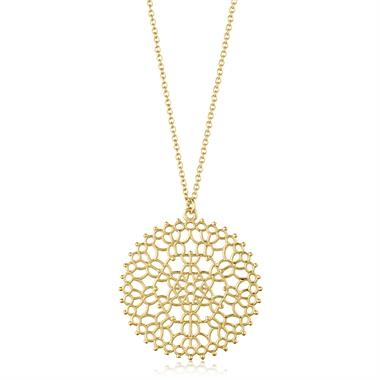 Element 18ct Yellow Gold Necklace Large thumbnail