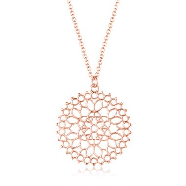 Element 18ct Rose Gold Necklace Medium thumbnail