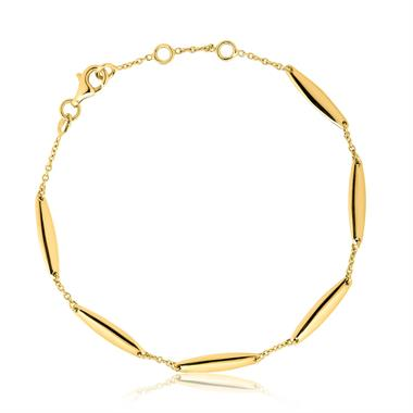Luna 18ct Yellow Gold Bracelet thumbnail