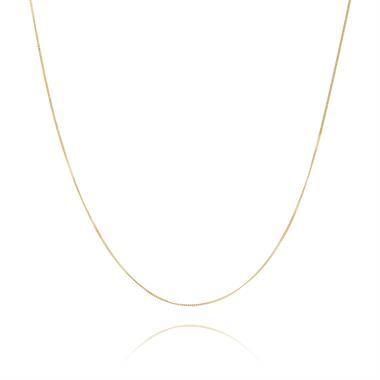 18ct Yellow Gold Curb Chain 42cm thumbnail