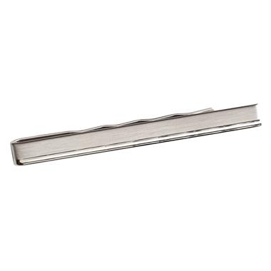 Sterling Silver Diamond Cut Detail Tie Slide thumbnail