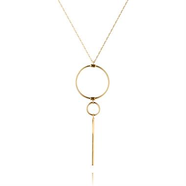 Issa 18ct Yellow Gold Necklace thumbnail