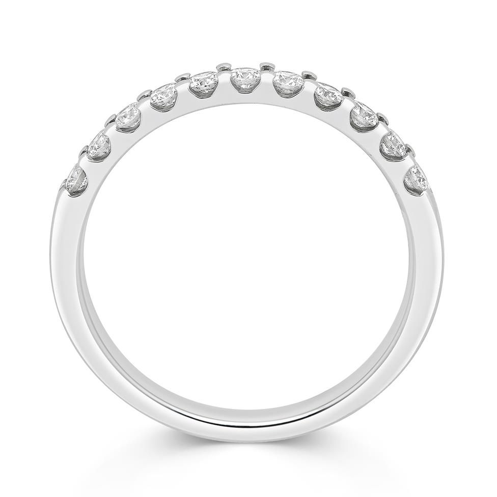 Platinum Round 0.33ct Diamond Claw Ring Thumbnail Image 1