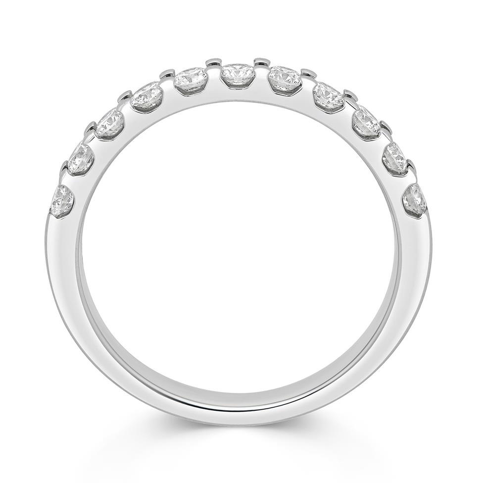 Platinum Round 0.50ct Diamond Claw Ring Thumbnail Image 1