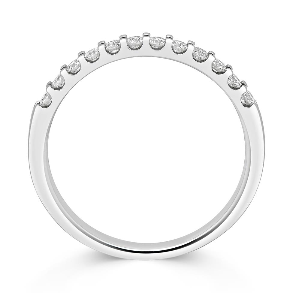 Platinum Diamond Half Eternity Ring 0.25ct Thumbnail Image 1