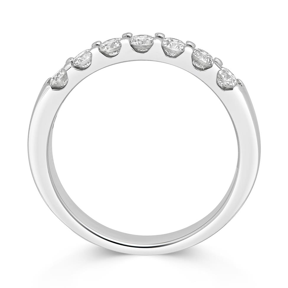 Platinum 0.50ct Diamond Top Third Claw Ring Thumbnail Image 1