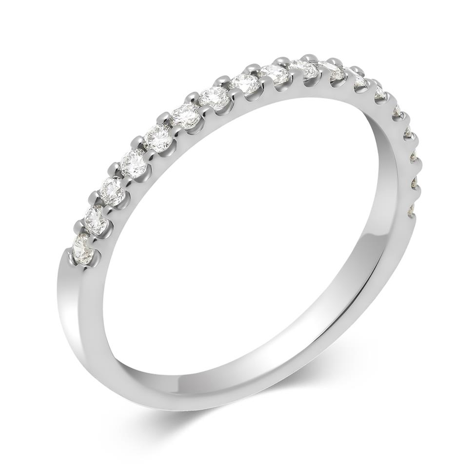 Platinum Diamond Half Eternity Ring 0.25ct Thumbnail Image 0