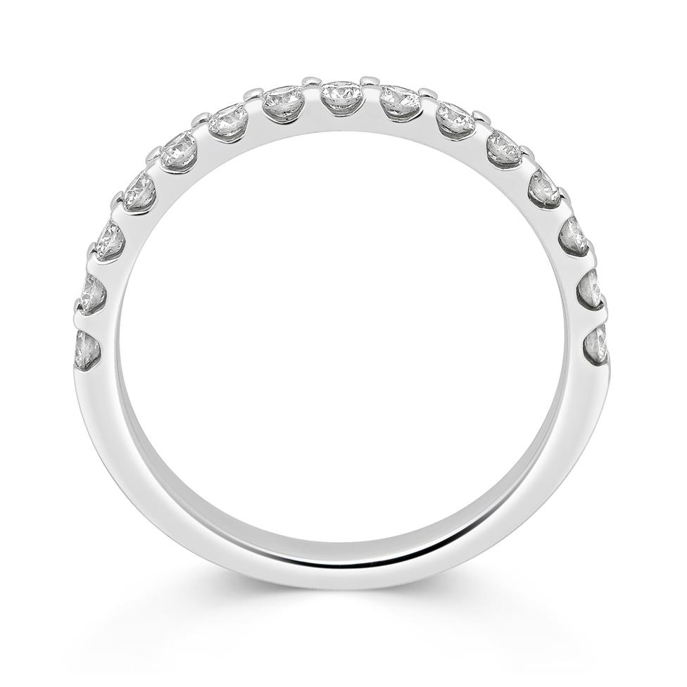 Platinum Diamond Half Eternity Ring 0.50ct Thumbnail Image 1