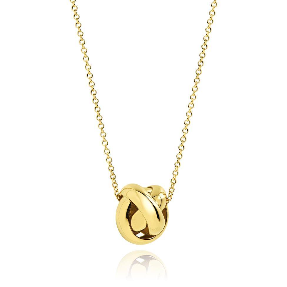 Echo 18ct Yellow Gold Necklace Thumbnail Image 0