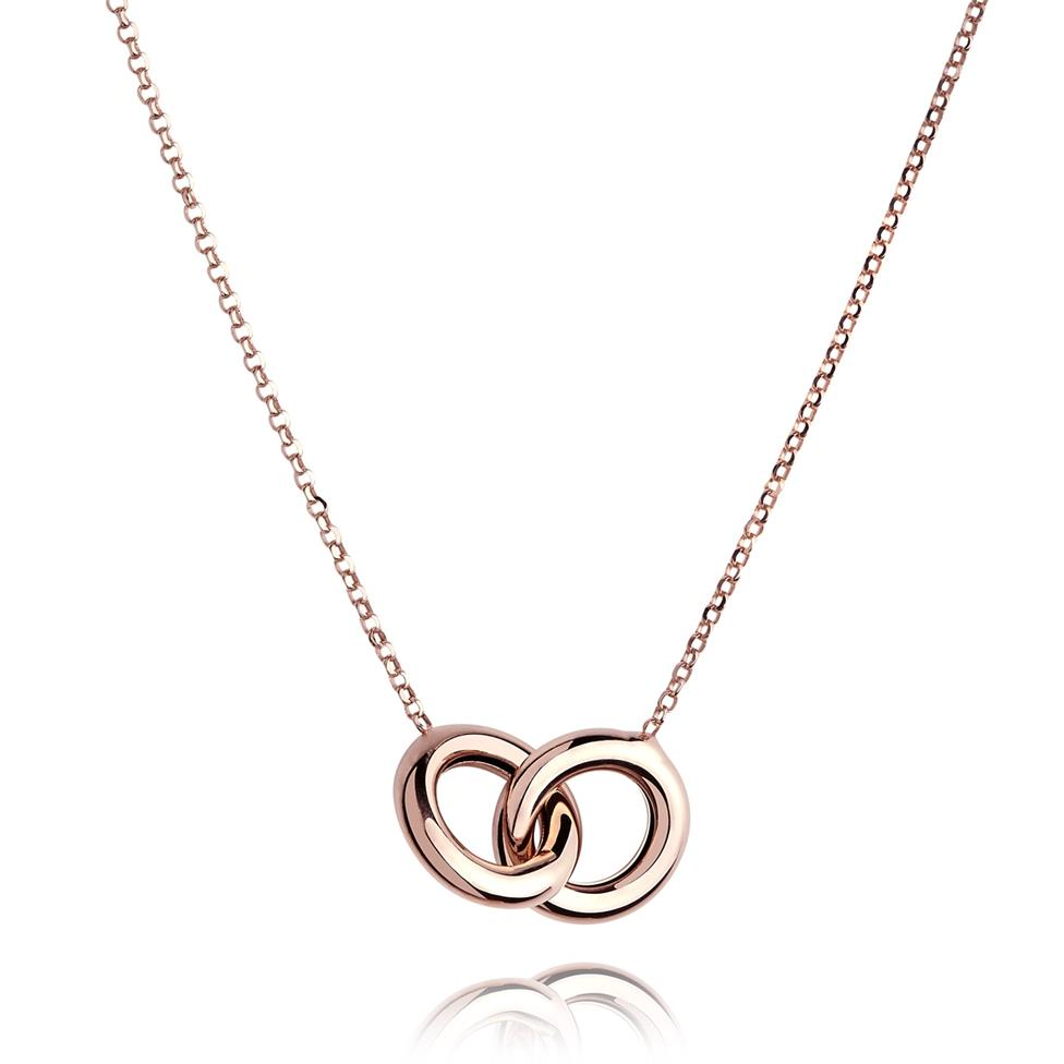 Union 18ct Rose Gold Necklace Thumbnail Image 0