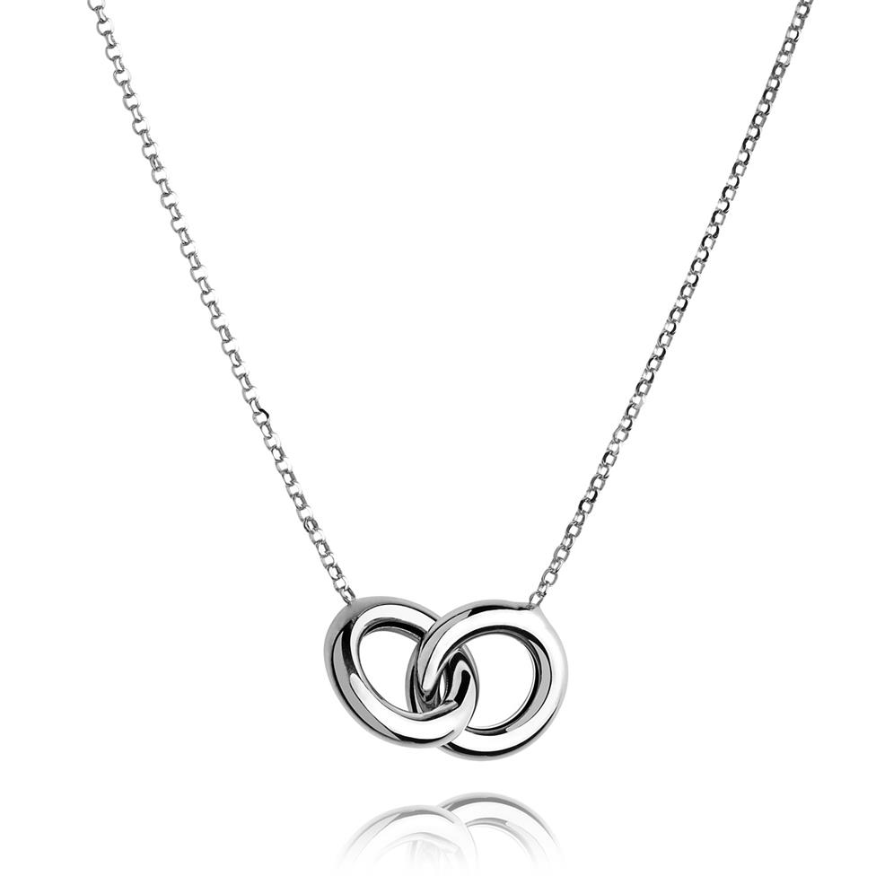 Union 18ct White Gold Necklace Thumbnail Image 0