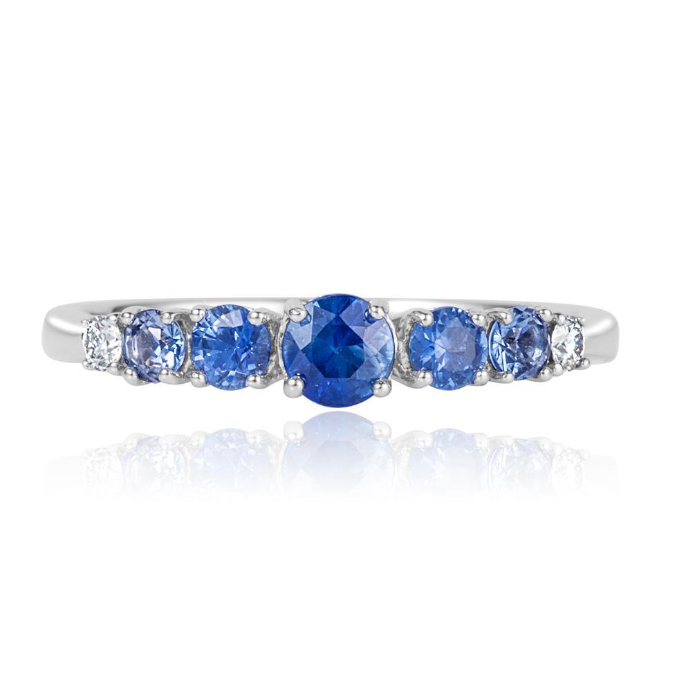 Bonbon 18ct White Gold Sapphire Dress Ring Thumbnail Image 1