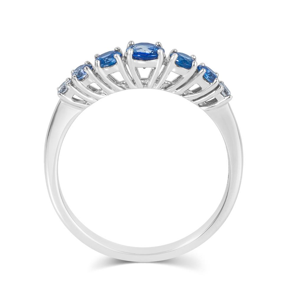 Bonbon 18ct White Gold Sapphire Dress Ring Thumbnail Image 2