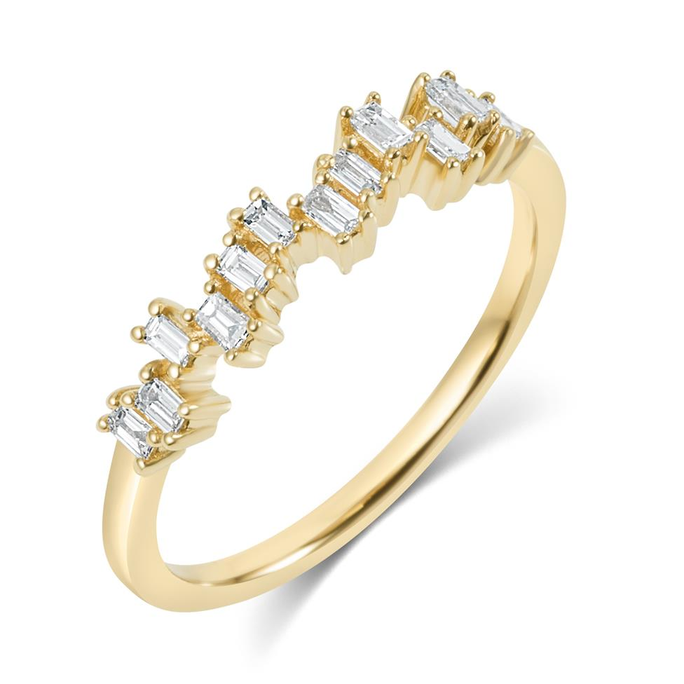 Stardust 18ct Yellow Gold Diamond Dress Ring 0.19ct Thumbnail Image 0