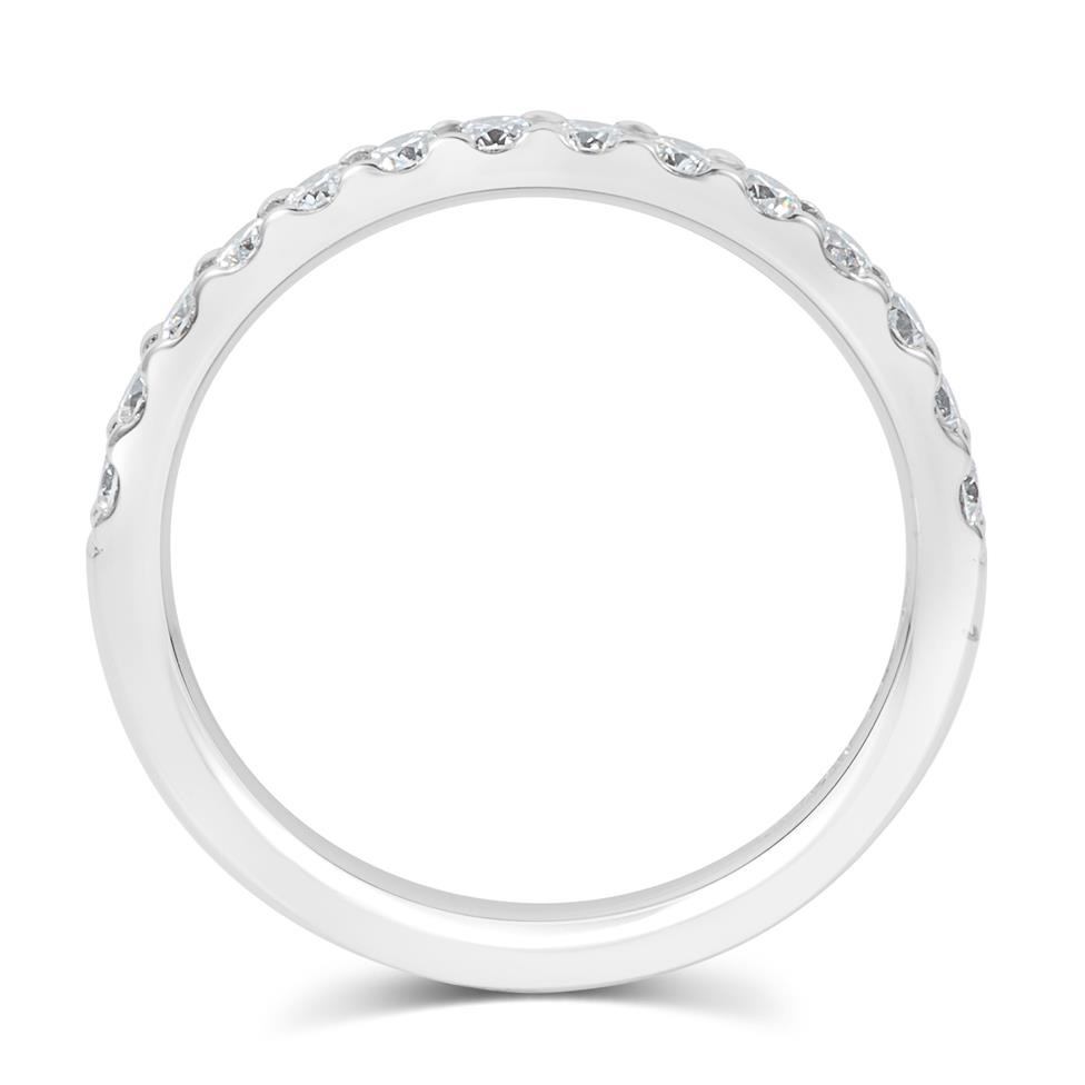 Platinum Diamond Half Eternity Ring 0.50ct Thumbnail Image 4