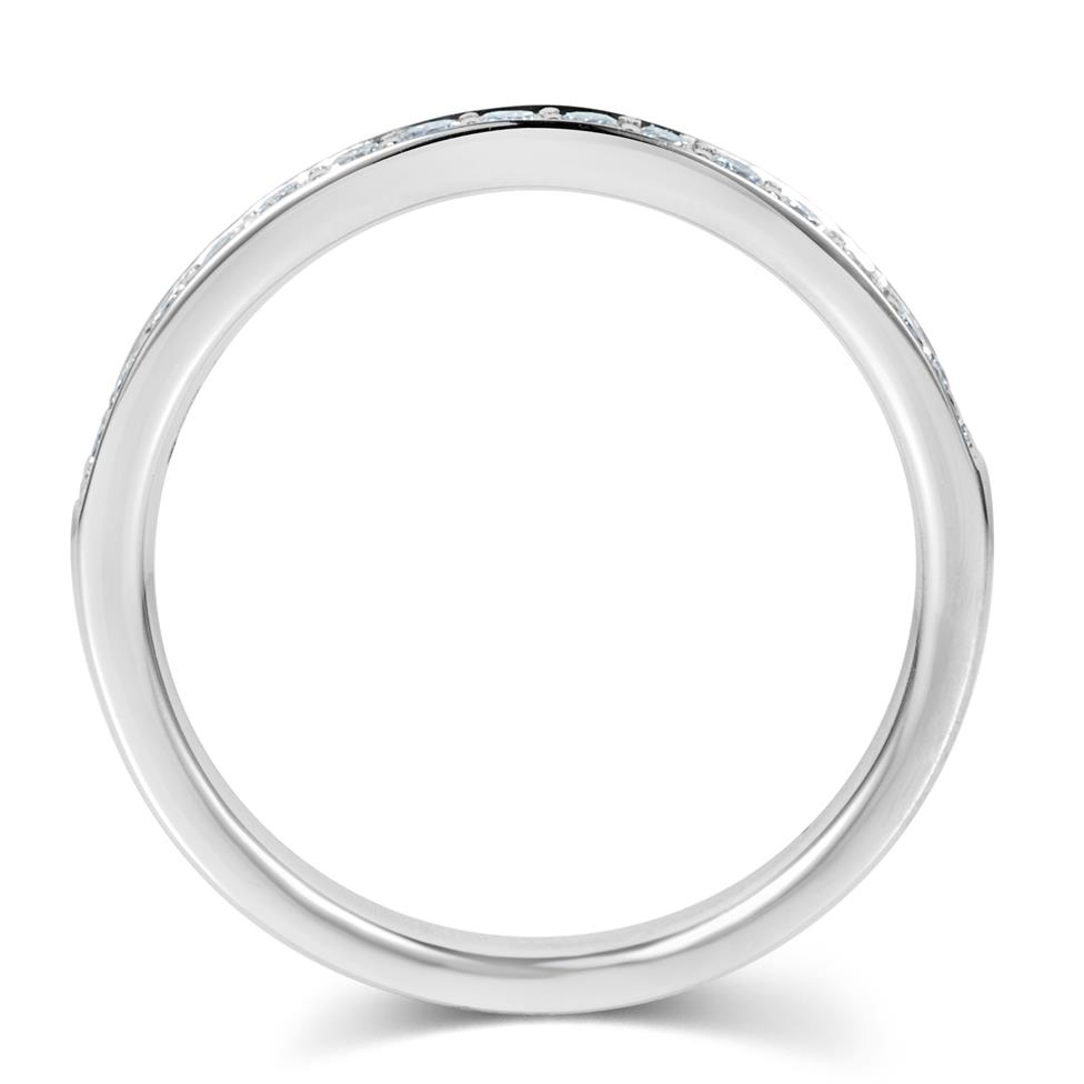 Platinum Diamond Half Eternity Ring 0.30ct Thumbnail Image 2