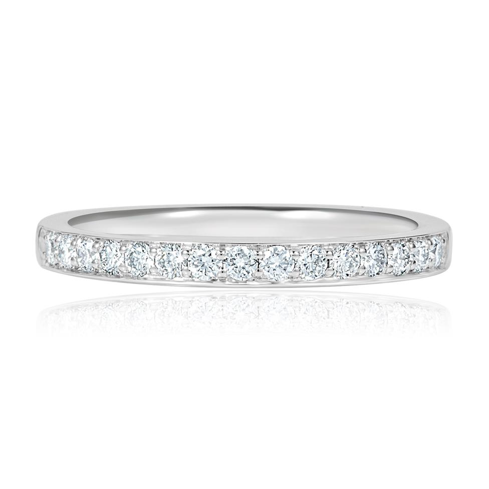 Platinum Diamond Half Eternity Ring 0.30ct Thumbnail Image 1